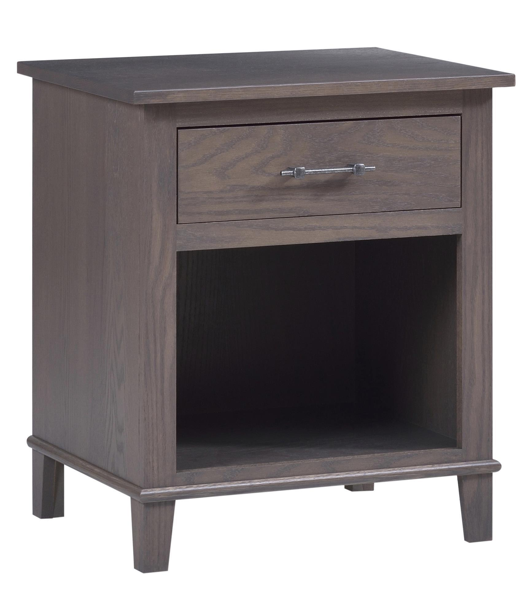 hamilton one drawer night stand from dutchcrafters. Black Bedroom Furniture Sets. Home Design Ideas