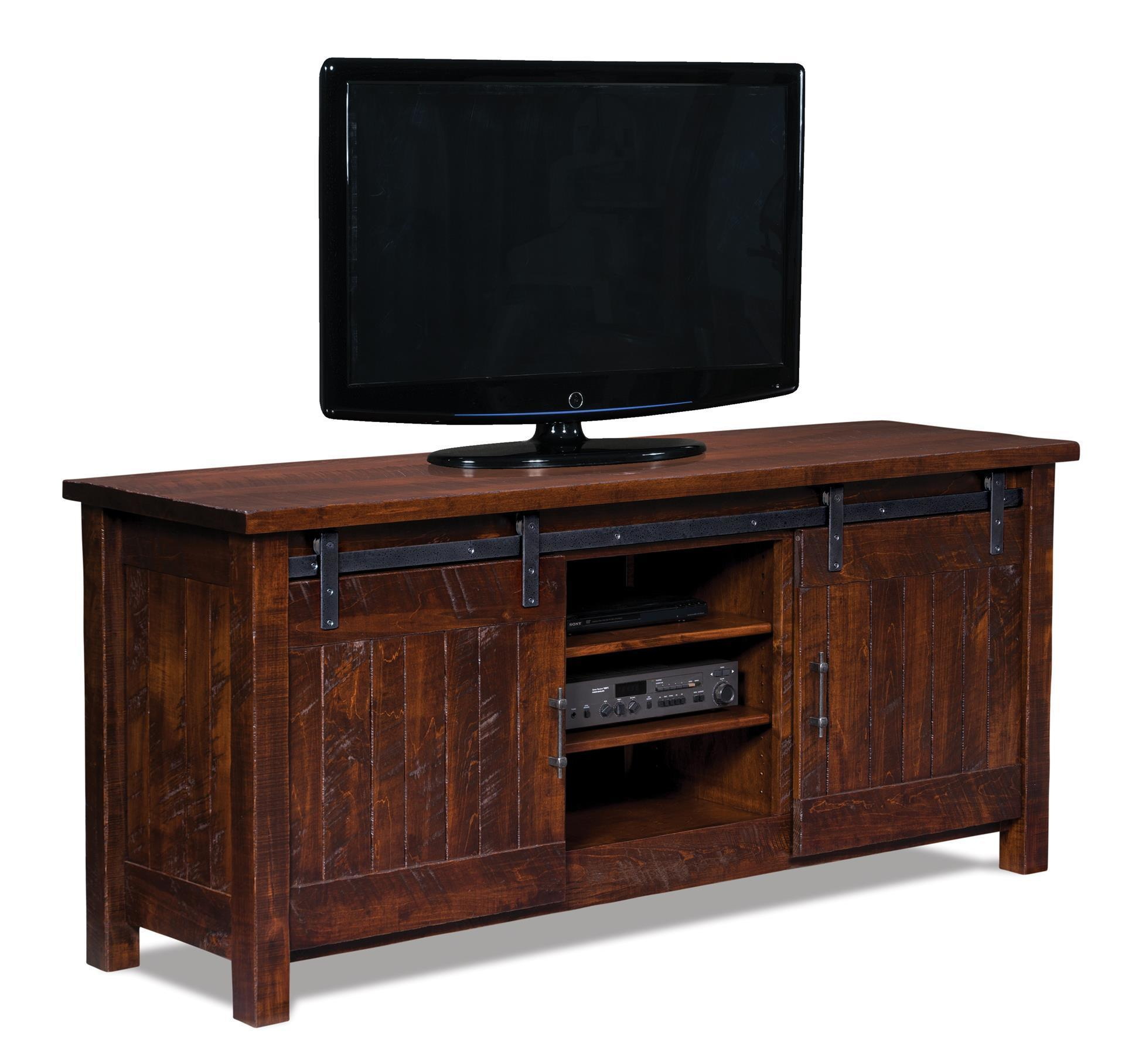 Sale Furniture Houston: Houston Two Door LCD Stand From DutchCrafters Amish Furniture