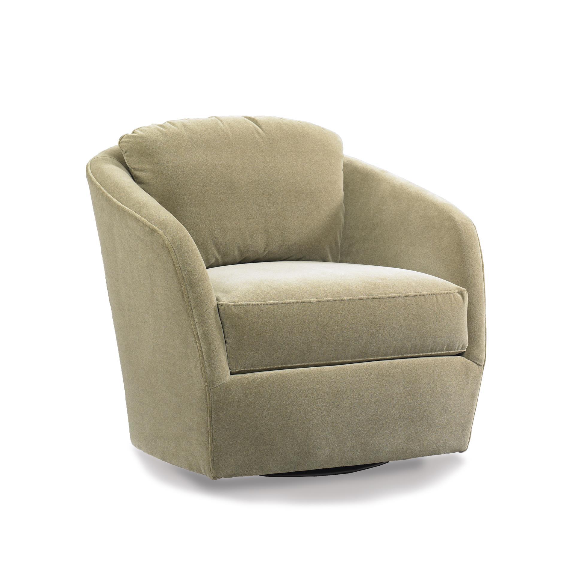 American Made Gordon Swivel Accent Chair