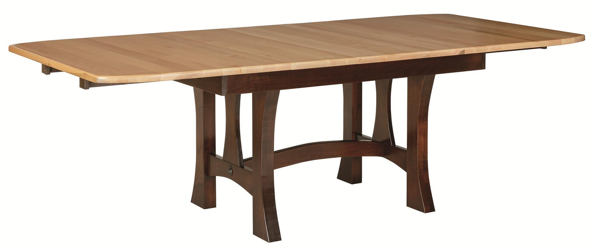 Monarch Solid Wood Extendable Dining Table From DutchCrafters Amish