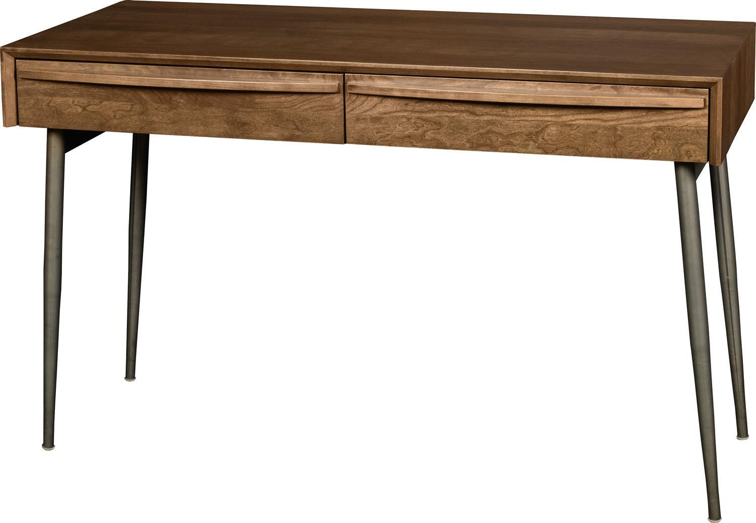 Image of: Amish Mid Century Modern Writing Desk From Dutchcrafters Amish