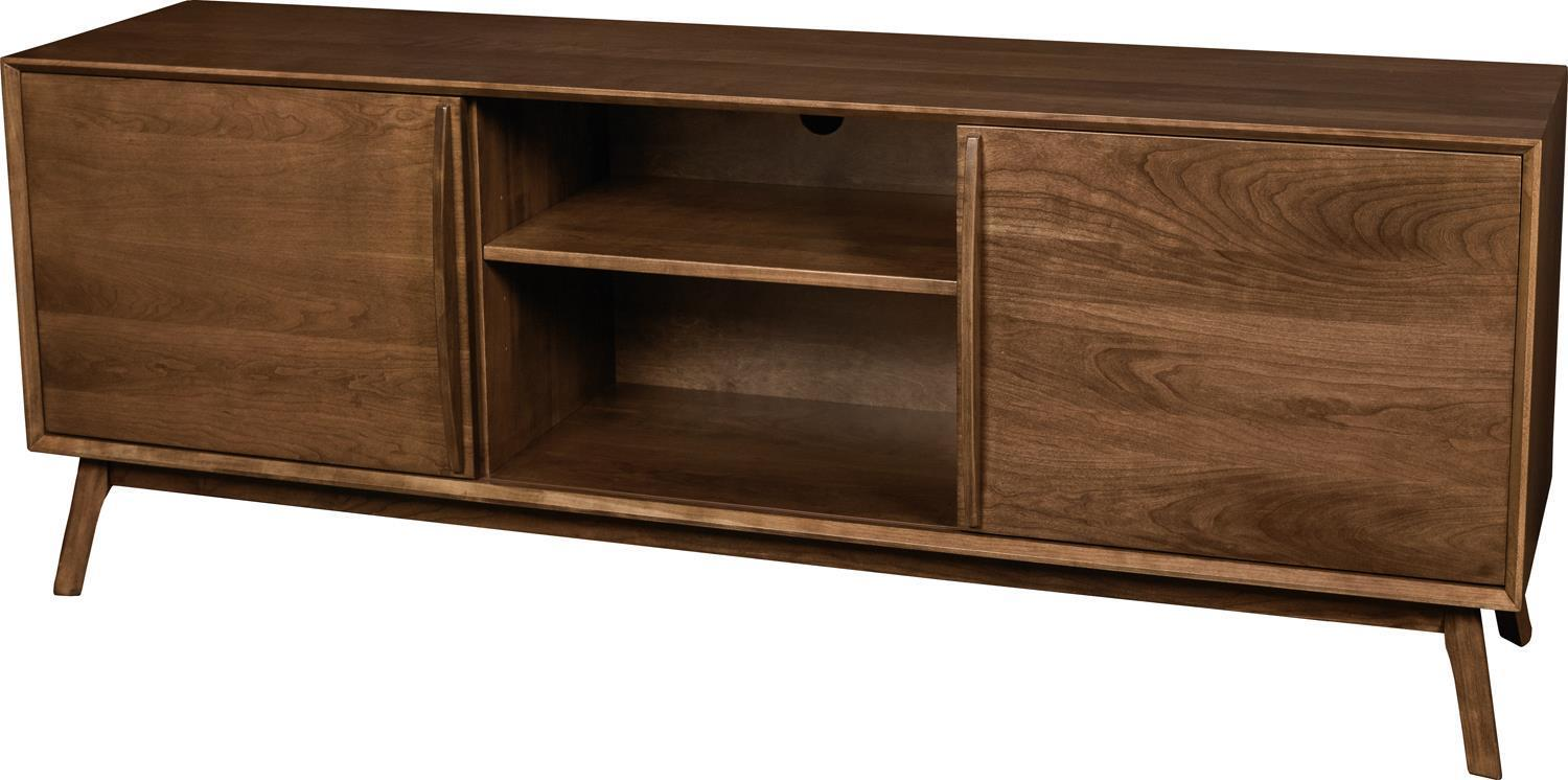 Cambridge Mid Century Modern Tv Console From Dutchcrafters Amish