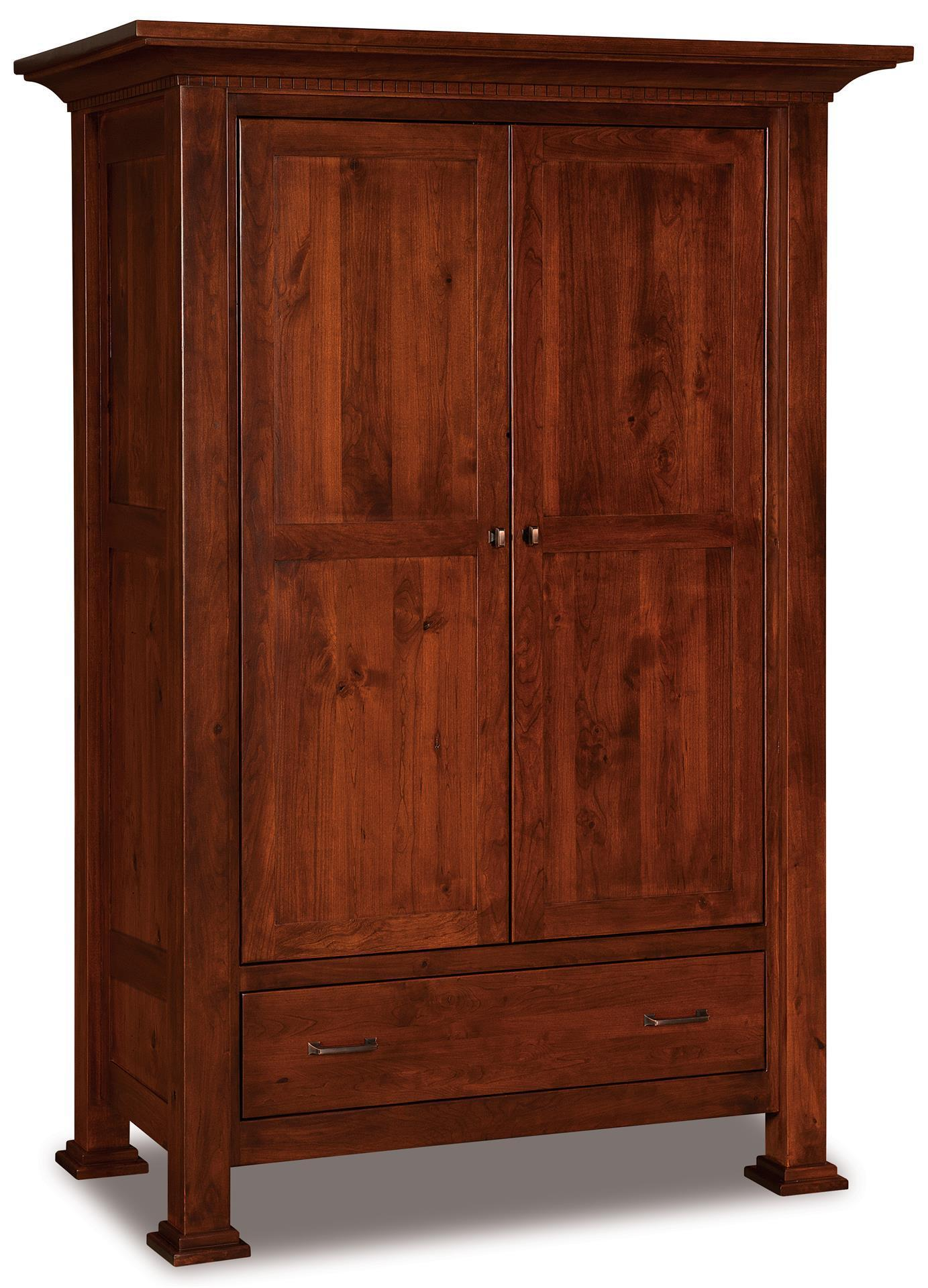 empire wardrobe armoire from dutchcrafters amish furniture
