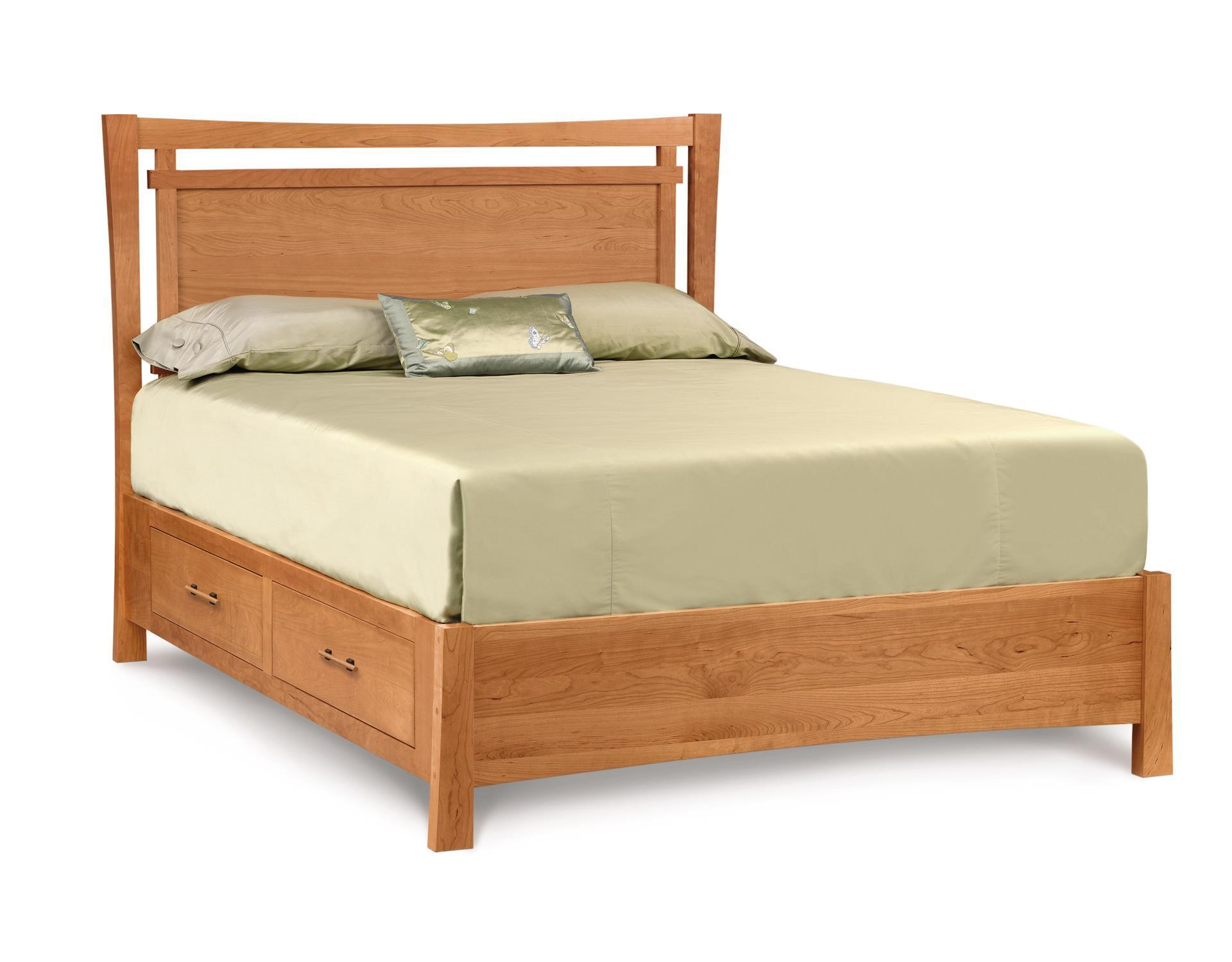 Solid Wood Storage Bed by Copeland