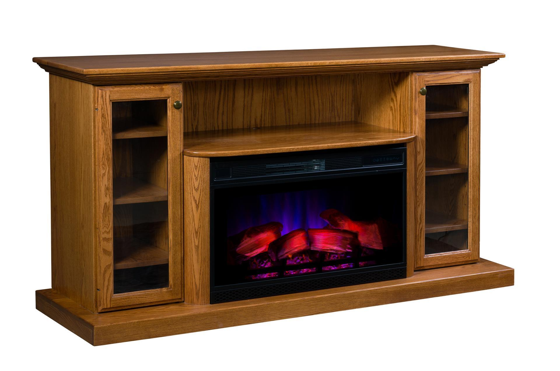 Swell Amish 70 Electric Fireplace Entertainment Center Interior Design Ideas Apansoteloinfo
