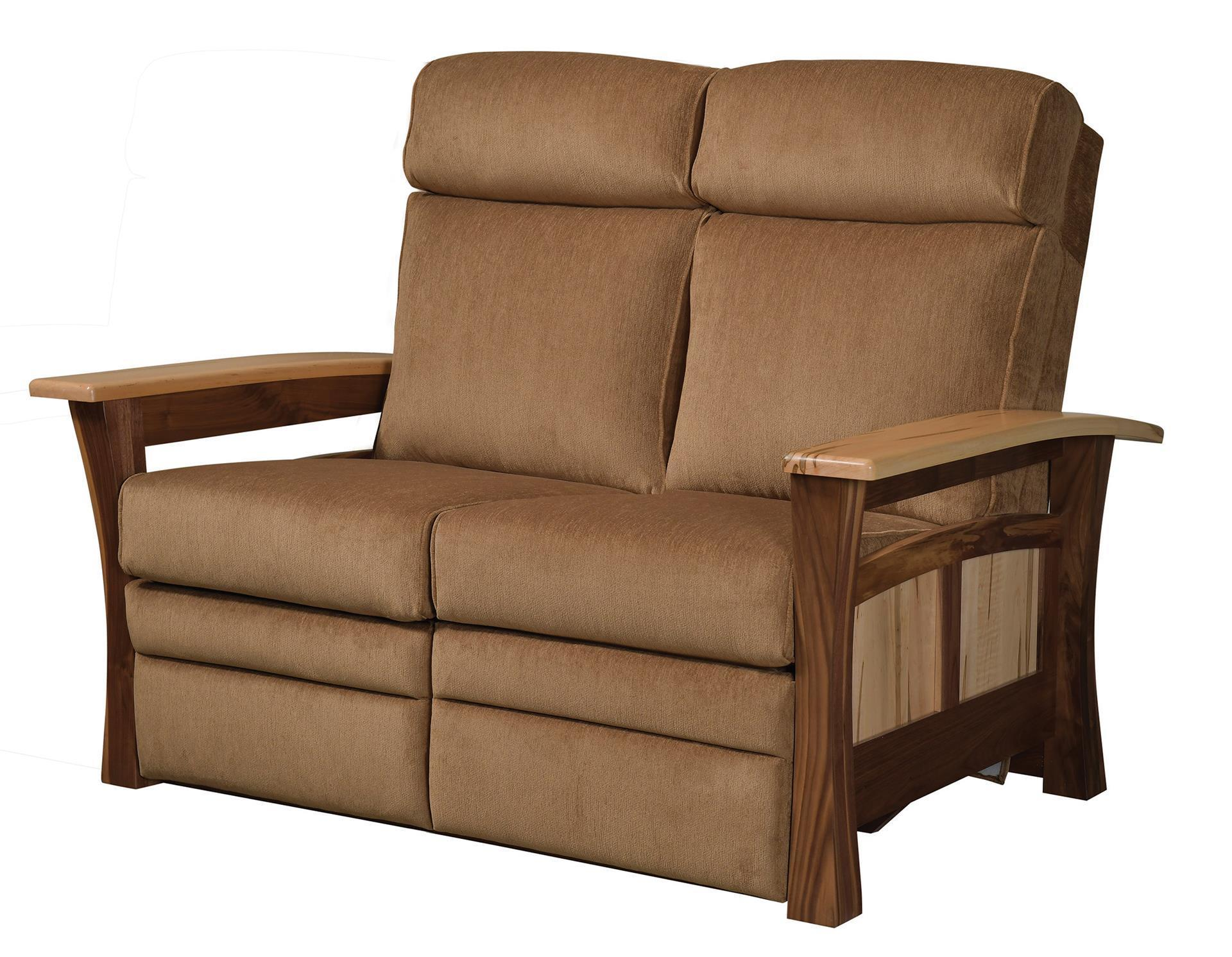 Shaker Gateway Recliner Loveseat From Dutchcrafters Amish Furniture