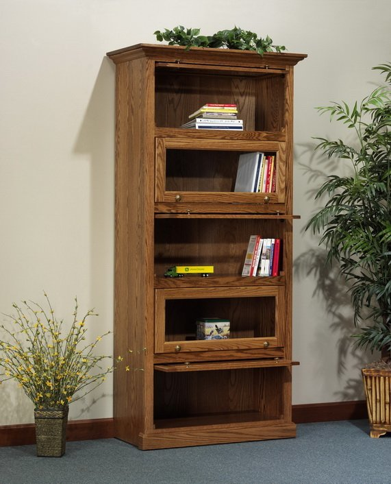 Deluxe Barrister Bookcase From Dutchcrafters Amish Furniture