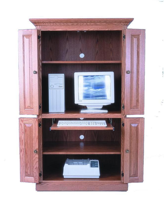 Computer Cabinet Armoire Desk