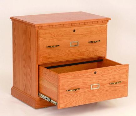 Amish Lateral File Cabinet
