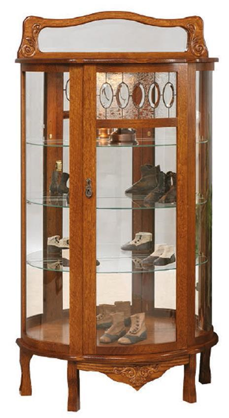 American Made Curio Cabinet From Dutchcrafters Amish Furniture