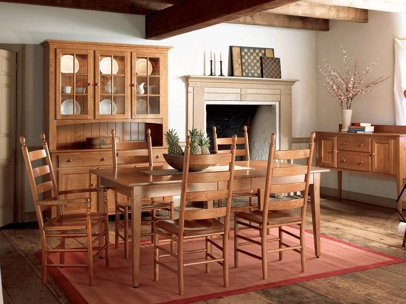 Amish-Made Dining Leg Tables