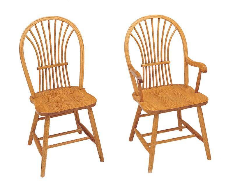 sc 1 st  DutchCrafters & Millstream Wheat Back Windsor Chair | Keystone Collection