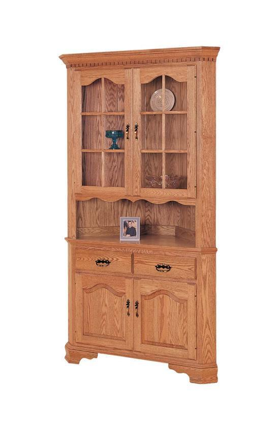 Keystone Collection 33 Quot Corner Hutch From Dutchcrafters Amish