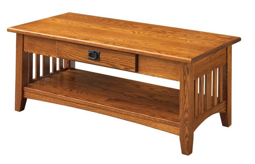 Keystone Collections Mission Coffee Table From