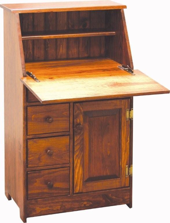 Handcrafted Amish Secretary Desk By Dutchcrafters Amish
