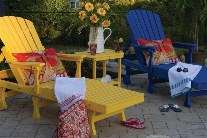Amish Outdoor Lounges | Poly Lounge Chairs