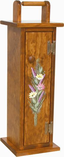 Pine Toilet Paper Holder From Dutchcrafters Amish Furniture
