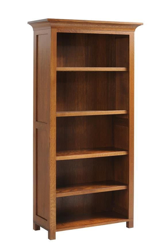Coventry Mission Style Bookcase From Dutchcrafters Amish