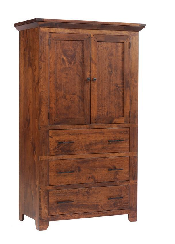 Rustic Redmond Wellington Armoire From Dutchcrafters Amish