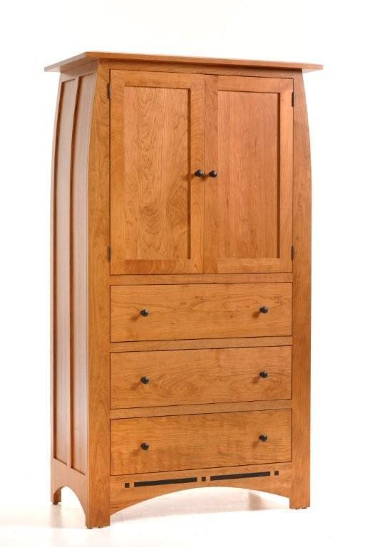Cherry Wood Vineyard Armoire From Dutchcrafters Amish