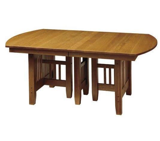 Trestle Table Amish Dining Room: Mission Trestle Dining Room Table From DutchCrafters Amish
