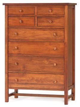 Modern Shaker Chest Of Drawers From Dutchcrafters Amish