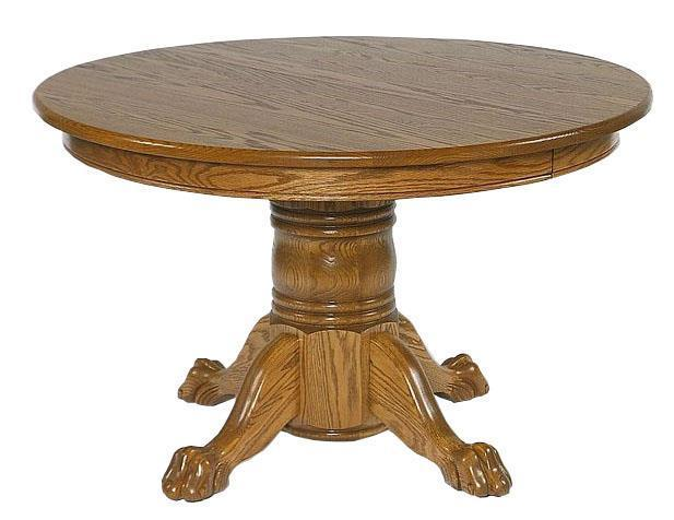 Small Round Pedestal Table By, 48 Round Pedestal Table With Leaf