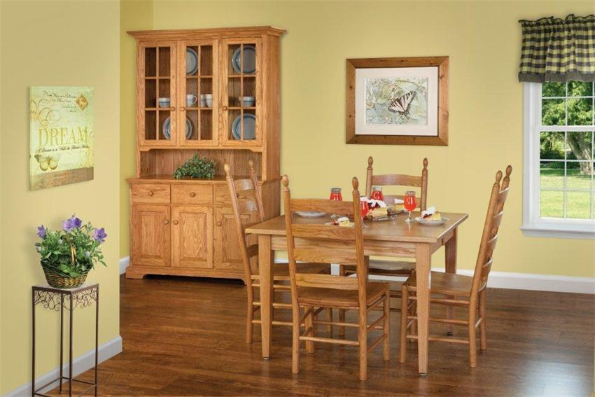 Shaker style furniture for the dining room by DutchCrafters
