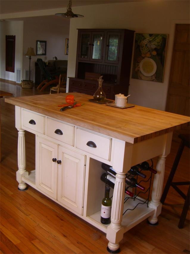 movable kitchen islands amish made large country kitchen island 1005