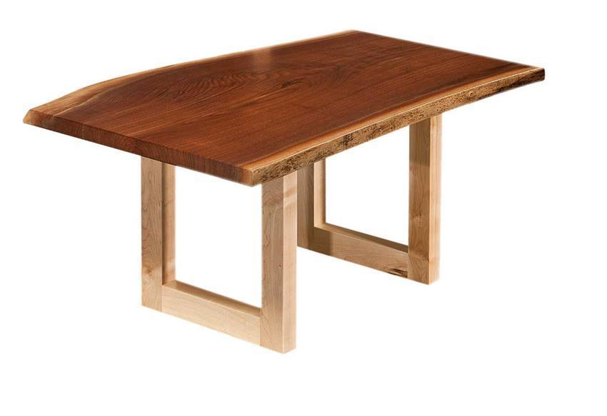 Amish Kalispel Live Edge Coffee Table
