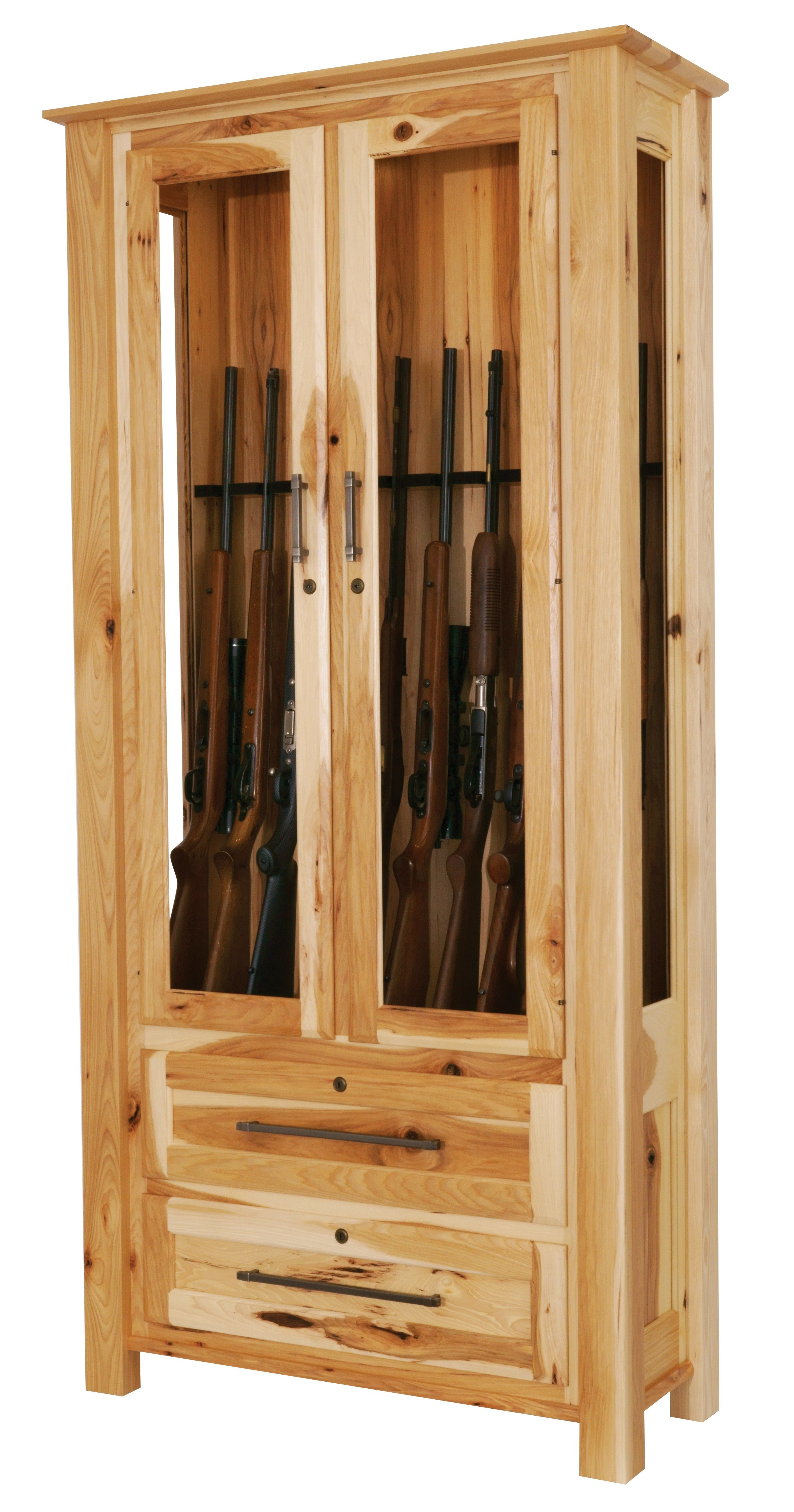 Wooden Gun Cabinet From Dutchcrafters Amish