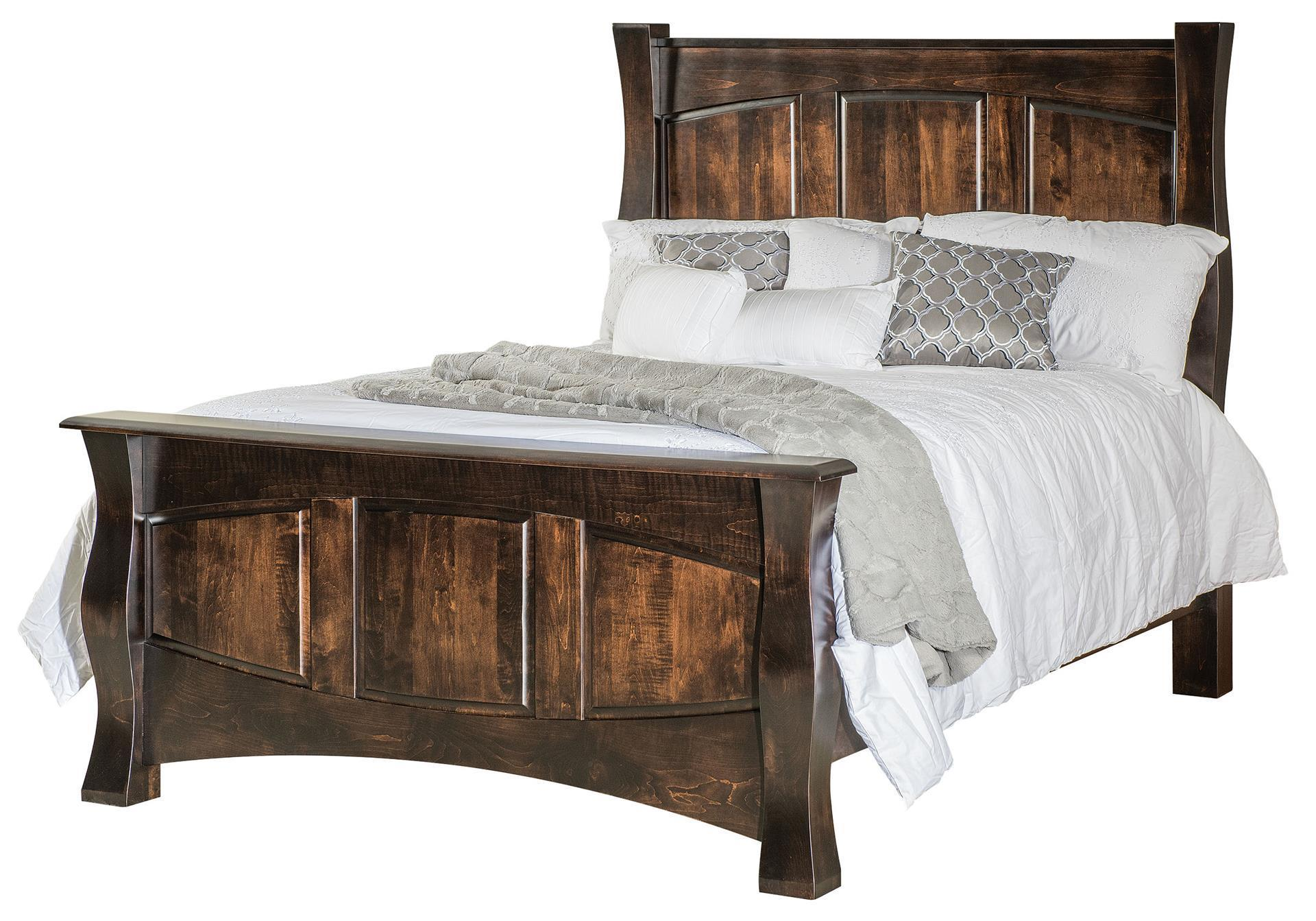 Reno Panel Bed From Dutchcrafters Amish
