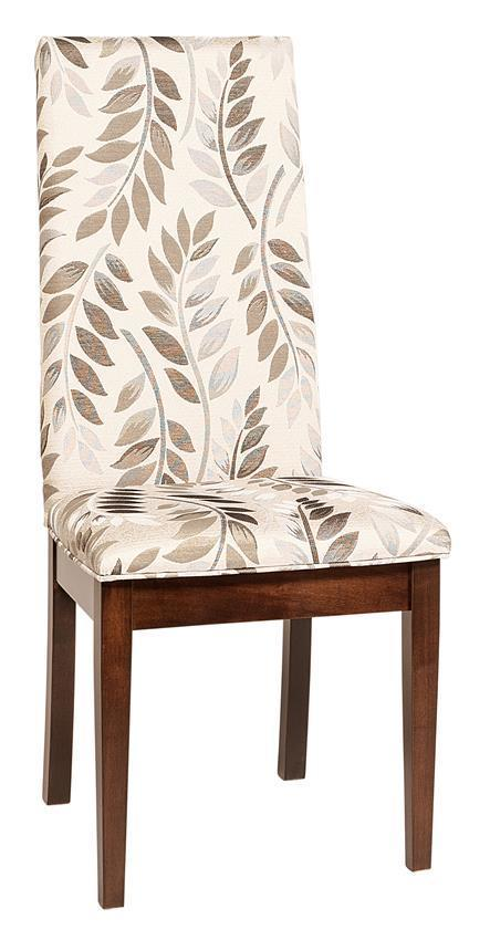 Bradbury Upholstered Parsons Dining Chair From Dutchcrafters Amish