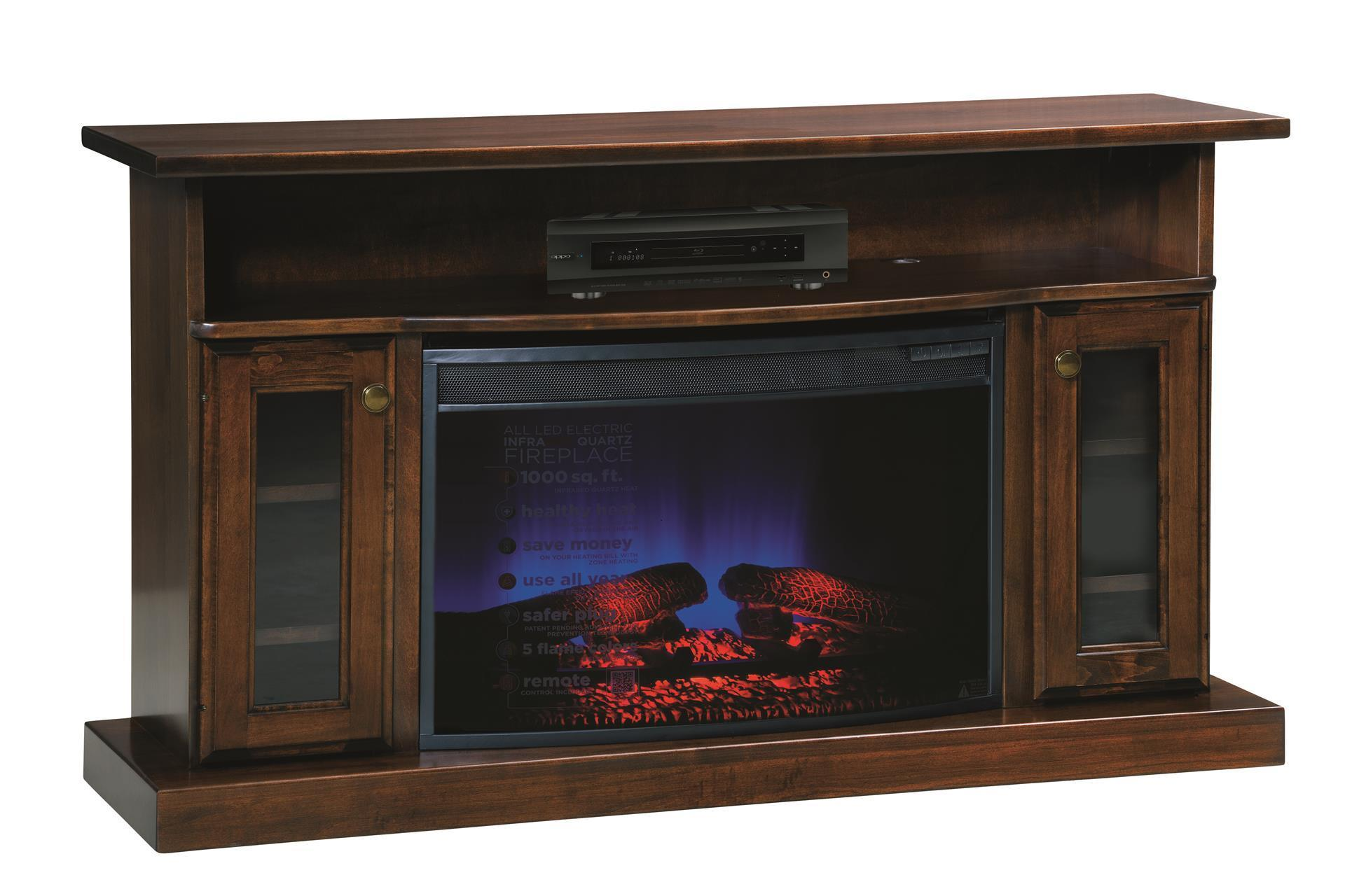 49 Electric Fireplace Tv Stand From Dutchcrafters Amish Furniture