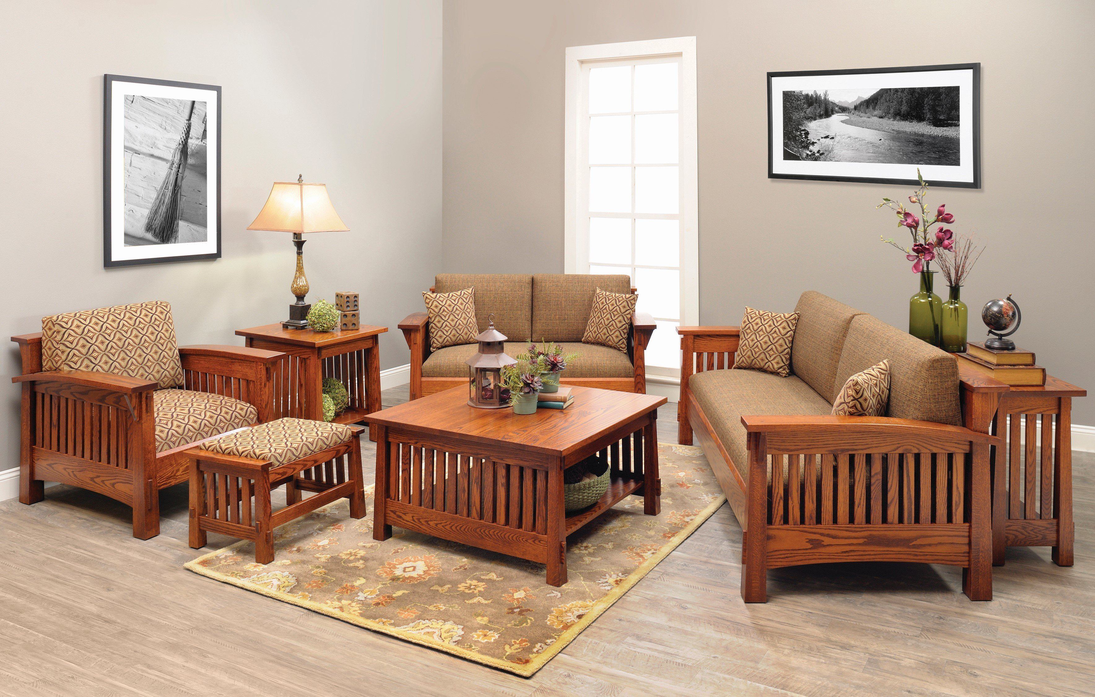 Shop the look - Countryside Mission Living Room Set